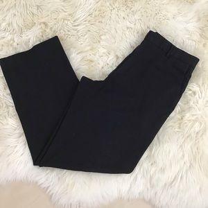 Calvin Klein black pinstripe dress pants